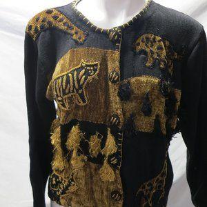 Animal theme sweater